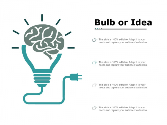 Bulb Or Idea Innovation Ppt PowerPoint Presentation Infographics Show