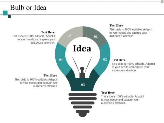 Bulb Or Idea Innovation Ppt PowerPoint Presentation Infographics Topics
