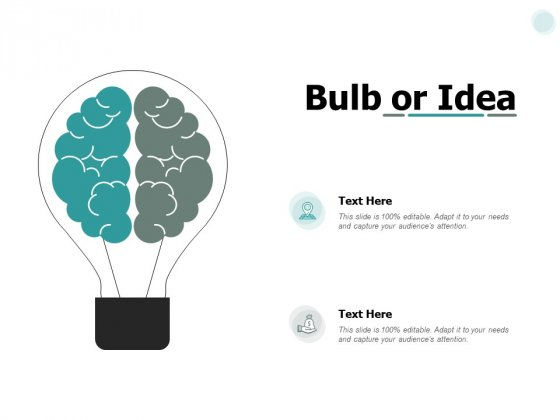 Bulb Or Idea Innovation Ppt PowerPoint Presentation Outline Pictures