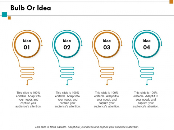 Bulb Or Idea Innovation Ppt PowerPoint Presentation Professional Themes