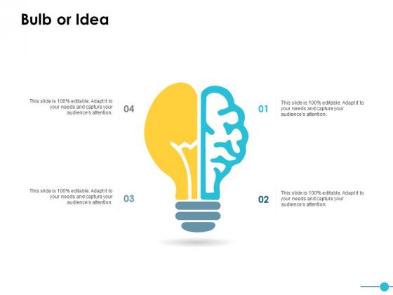 Bulb Or Idea Innovation Ppt PowerPoint Presentation Slides Display