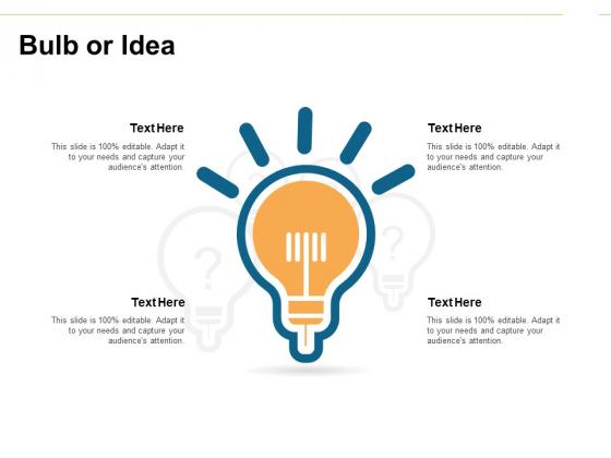 Bulb Or Idea Innovation Ppt PowerPoint Presentation Summary Mockup
