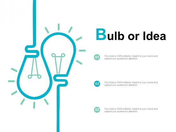 Bulb Or Idea Innovation Ppt PowerPoint Presentation Visual Aids Outline