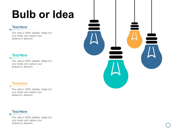 Bulb Or Idea Planning Technology Ppt PowerPoint Presentation Professional Outline