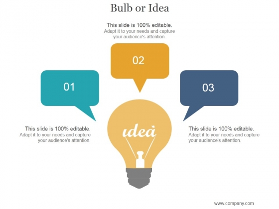 Bulb Or Idea Ppt PowerPoint Presentation Background Designs