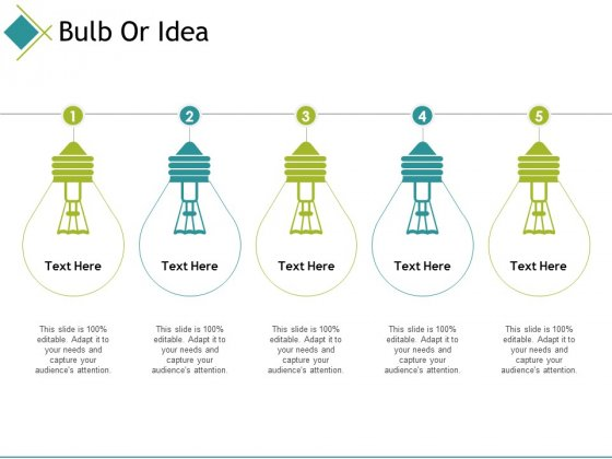 Bulb Or Idea Ppt PowerPoint Presentation Diagram Ppt