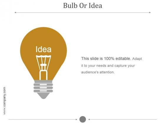 Bulb Or Idea Ppt PowerPoint Presentation Diagrams