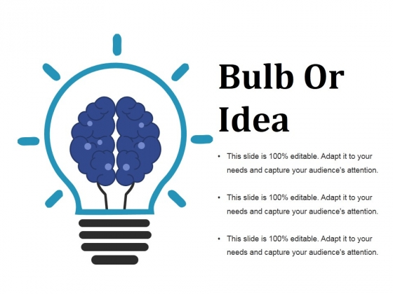 Bulb Or Idea Ppt PowerPoint Presentation File Gridlines