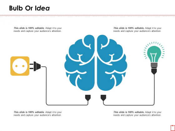 Bulb Or Idea Ppt PowerPoint Presentation File Slideshow