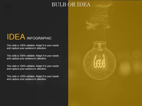 Bulb Or Idea Ppt PowerPoint Presentation File Templates