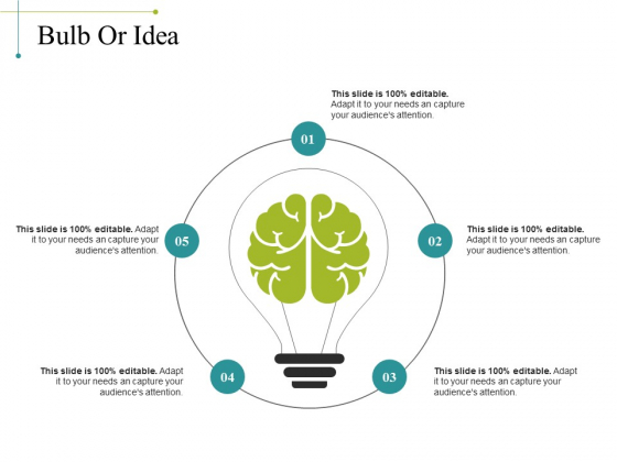 Bulb Or Idea Ppt PowerPoint Presentation Gallery Slides
