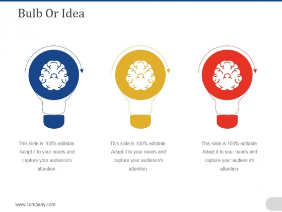 Bulb Or Idea Ppt PowerPoint Presentation Icon Aids