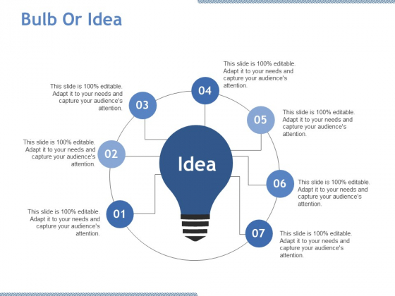 Bulb Or Idea Ppt PowerPoint Presentation Icon Background Image