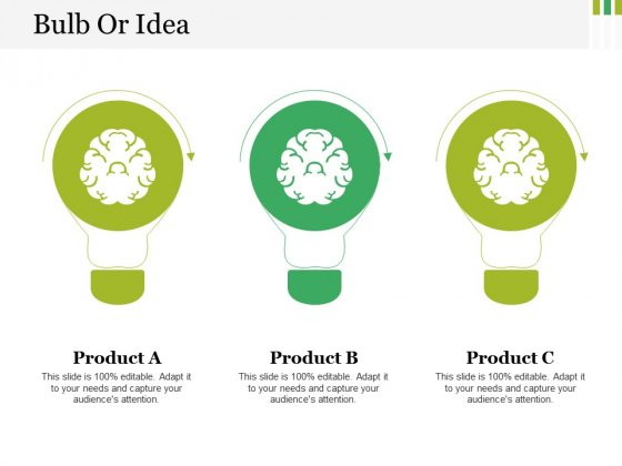 Bulb Or Idea Ppt PowerPoint Presentation Icon Example