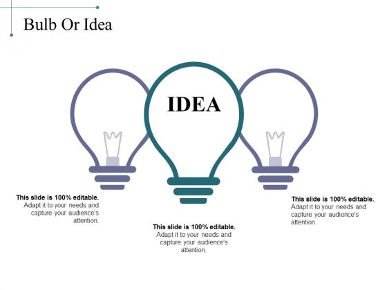 Bulb Or Idea Ppt PowerPoint Presentation Icon Files