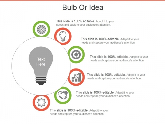 Bulb Or Idea Ppt PowerPoint Presentation Infographic Template Styles