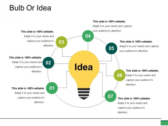 Bulb Or Idea Ppt PowerPoint Presentation Infographics Background Designs