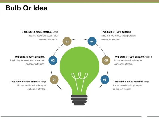Bulb Or Idea Ppt PowerPoint Presentation Infographics Example