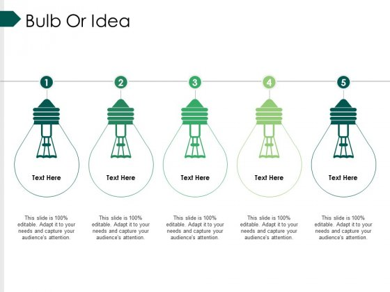 Bulb Or Idea Ppt PowerPoint Presentation Infographics Layout