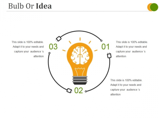 Bulb Or Idea Ppt PowerPoint Presentation Inspiration Portrait