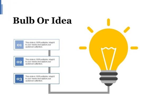 Bulb Or Idea Ppt PowerPoint Presentation Layouts Design Ideas