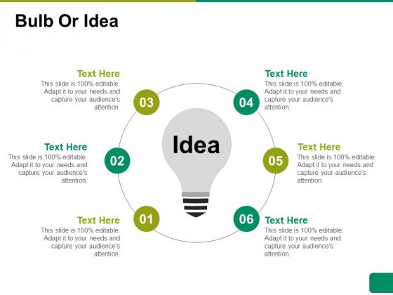 Bulb Or Idea Ppt PowerPoint Presentation Model Format Ideas