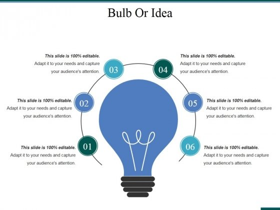 Bulb Or Idea Ppt PowerPoint Presentation Model Microsoft