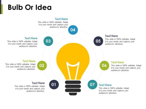 Bulb Or Idea Ppt PowerPoint Presentation Model Slideshow