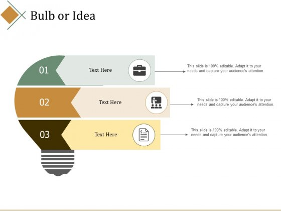 Bulb Or Idea Ppt PowerPoint Presentation Outline Background