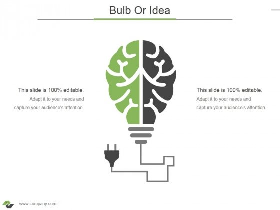 Bulb Or Idea Ppt PowerPoint Presentation Outline Ideas