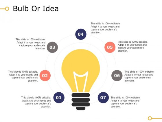 Bulb Or Idea Ppt PowerPoint Presentation Outline Portrait