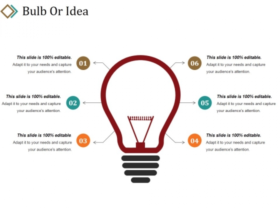 Bulb Or Idea Ppt PowerPoint Presentation Pictures Guidelines