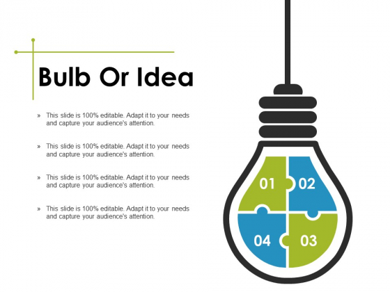 Bulb Or Idea Ppt PowerPoint Presentation Pictures