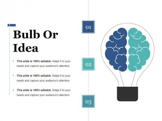 Bulb Or Idea Ppt PowerPoint Presentation Portfolio Aids