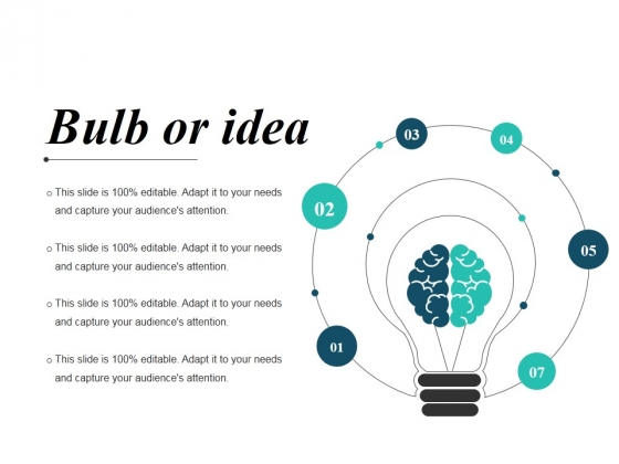 Bulb Or Idea Ppt PowerPoint Presentation Professional Graphics Pictures