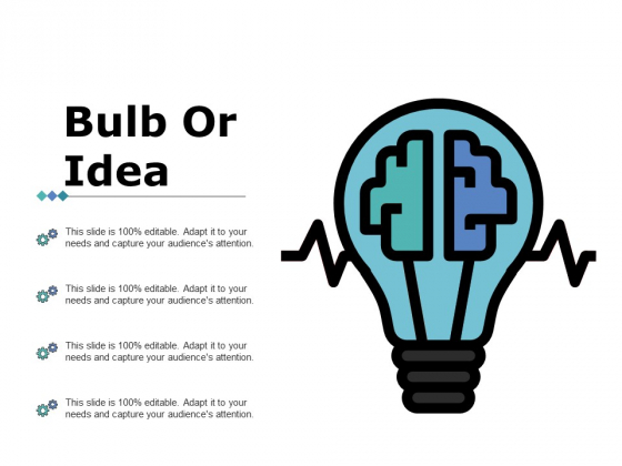 Bulb Or Idea Ppt PowerPoint Presentation Professional Topics
