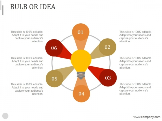 Bulb Or Idea Ppt PowerPoint Presentation Rules