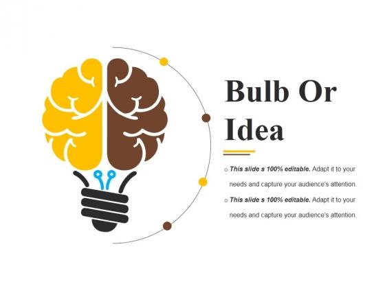 Bulb Or Idea Ppt PowerPoint Presentation Slides Images