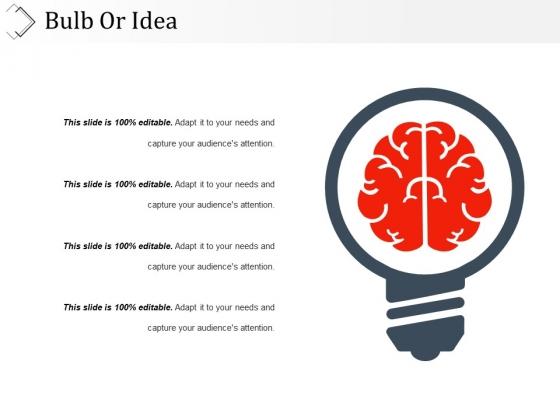 Bulb Or Idea Ppt PowerPoint Presentation Styles Grid