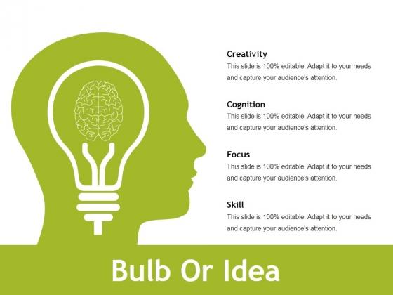 Bulb Or Idea Ppt PowerPoint Presentation Styles Styles