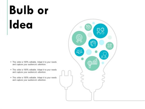 Bulb Or Idea Technology Marketing Ppt PowerPoint Presentation File Show