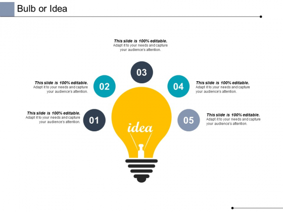 Bulb Or Idea Technology Ppt PowerPoint Presentation Diagram Lists