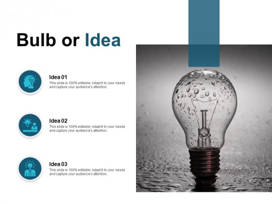 Bulb Or Idea Technology Ppt PowerPoint Presentation Gallery Clipart