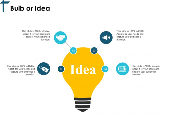 Bulb Or Idea Technology Ppt PowerPoint Presentation Infographic Template Slides