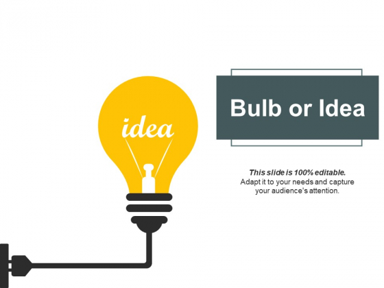 Bulb Or Idea Technology Ppt PowerPoint Presentation Layouts Model