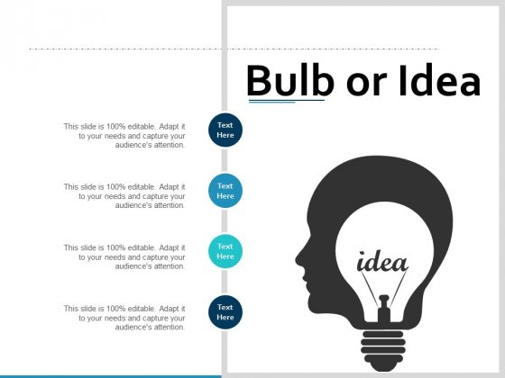 Bulb Or Idea Technology Ppt PowerPoint Presentation Layouts Picture