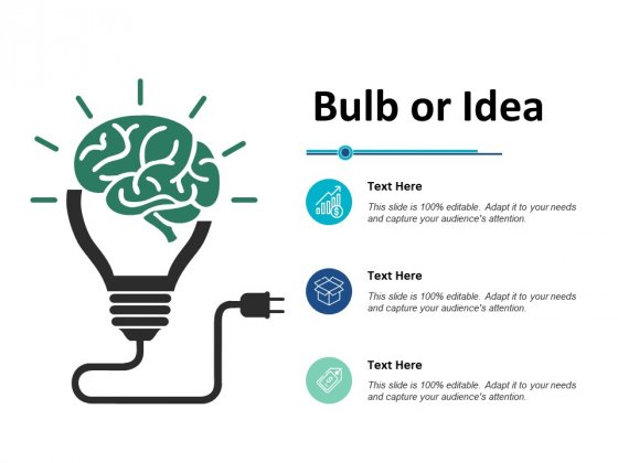 Bulb Or Idea Technology Ppt PowerPoint Presentation Layouts Show