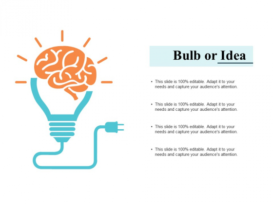Bulb Or Idea Technology Ppt PowerPoint Presentation Model File Formats