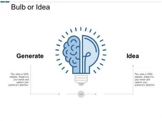 Bulb Or Idea Technology Ppt PowerPoint Presentation Model Icon