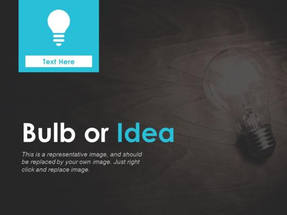 Bulb Or Idea Technology Ppt PowerPoint Presentation Portfolio Graphic Tips